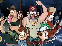 Puzzle cu Mabel si Prietenii Ei
