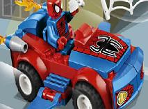 Puzzle cu Masina Spiderman Lego