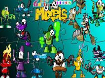 Puzzle cu Mixels