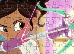Puzzle cu Nella Printesa Cavaler