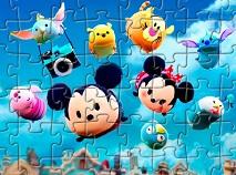 Puzzle cu Personajele Tsum Tsum