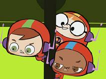 Puzzle cu Prietenii lui Eliot Kid