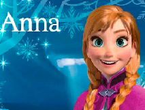 Puzzle cu Printesa Ana