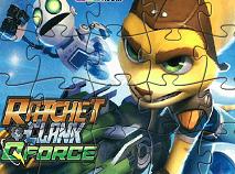 Puzzle cu Ratchet si Clank 2