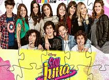 Soy Luna Jigsaw