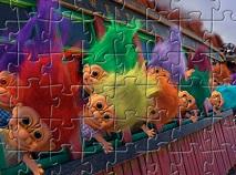 Puzzle cu Trolii