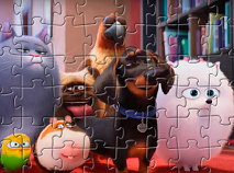 The Secret Life of Pets Characters Puzzle