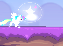 Rainbow Dash Pony Adventure