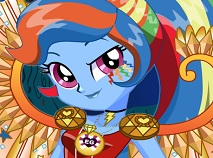 Crystal Wings Rainbow Dash Dress Up