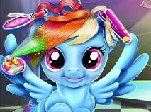 Rainbow Dash Frizuri Trasnite