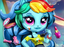 Rainbow Dash Moda Coreeana