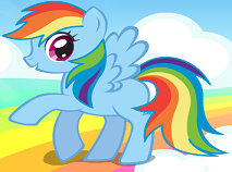 Rainbow Dash Super Stil