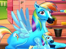 Rainbow Dash si Bebelusul
