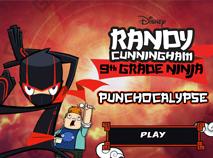 Randy Cunningham Aventura Ninja