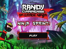 Randy Cunningham Ninja Ninja Sprint