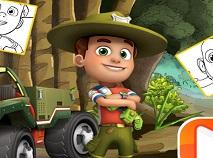 Ranger Rob Carte de Colorat