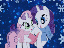Rarity and Her Sister