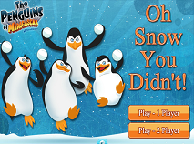 Penguins of Madagascar Oh Snow You Didn't