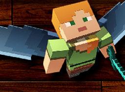Razboinicul Minecraft Puzzle