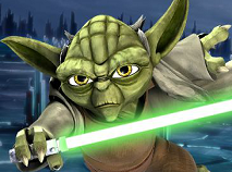 Star Wars Yoda Battle Slash