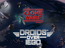 Star Wars The Clone Wars Droids Over Lego