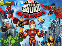Super Hero Squad Find the Alphabets