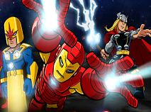 Razbunatorii si Pietrele lui Thanos
