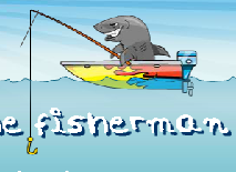 Shark the Fisherman