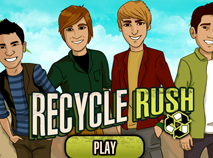 Big Time Rush Recycle Rush