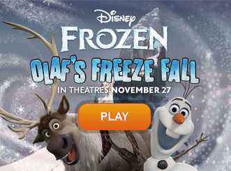 Frozen Olaf Freeze Fall