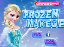 Frozen Elsa Make Up