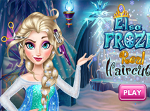 Regatul de Gheata cu Elsa la Coafor