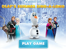 Frozen Olaf Summer Sing A Long