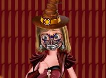 Riley Costumatie Infricosatoare de Halloween