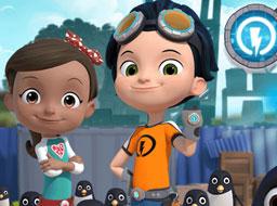 Rusty si Pinguinii