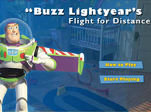 Buzz Lightyear Flight for Distance