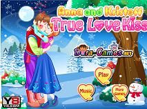 Anna and Kristoff True Love Kissing