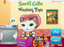 Sherrif Callie Washing Toys