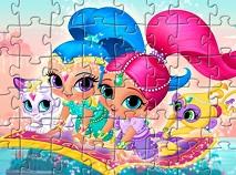 Shimmer si Shine Jigsaw