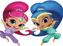 Shimmer si Shine Puzzle Jigsaw
