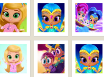 Shimmer and Shine Memory Game