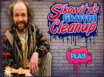 Sikowitz's Graffiti Cleanup