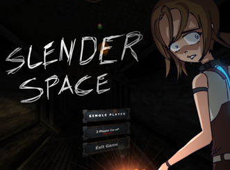 Slender Man Space 3D in Two