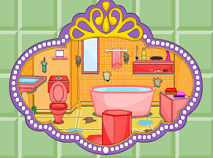 Sofia the First Bathroom Cleaning