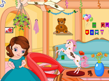 Princess Sofia New Year Cleaning