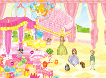 Sofia the First Palace Decoration
