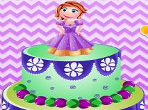 Sofia Intai Decoreaza Tortul