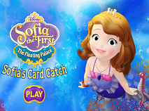 Sofia the First Sofia's Card Catch