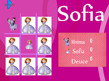 Sofia the First Tic Tac Toe