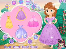 Sofia the First dress up